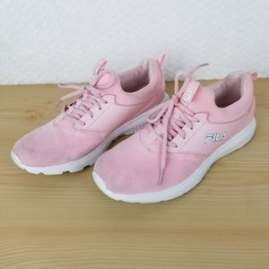 Pre-Owned FILA SNEAKERS Pink, Size 9